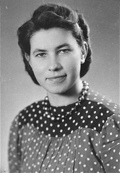 Hildegard Kusserow, one of Jehovah's Witnesses, was imprisoned for four years in several concentration camps including Ravensbrueck, Germany for her religious beliefs.