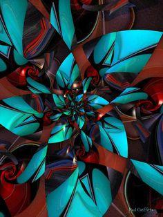 Fractal Images, Fractal Art, Art Optical, Optical Illusions, Phone Screen Wallpaper, Fractal Design, Aqua, Teal, Turquoise