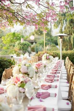 Spring garden party