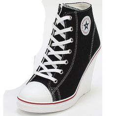 Wedges Trainers Heels Sneakers Platform High Top Ankles Lace UPS Zip Boots Shoes   eBay