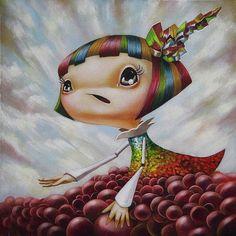 Pop Surrealism | Japanese Pop Surrealism Art : Art, Design | We Heart It