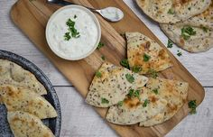 Grilled Flaxseed Flatbread