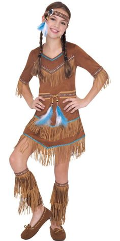 Girls Dream Catcher Cutie Native American Costume - Party City