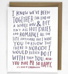 awkward love card anniversary cards for boyfriend valentines card for husband birthday poems for
