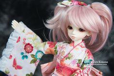 Sakura Serenity Wa-Loli Kimono for MSD Mini Super Dollfie, Luts Kid Delf & Mini Dollfie Dream on Etsy, kr246,15