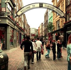 Carnaby Street! - fun place to visit & reminisce.