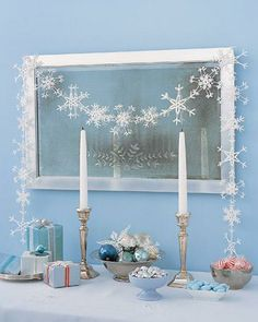 How To Make Ice-Crystal Garland
