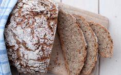 Eltefritt rugbrød Banana Bread, Baking, Breakfast, Desserts, Food, Morning Coffee, Tailgate Desserts, Deserts, Bakken