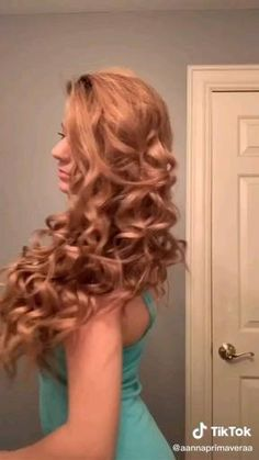 Hairdo For Long Hair, Curly Hair Tips, Easy Hairstyles For Long Hair, Wavy Hair Care, Cute Braided Hairstyles, Cool Hairstyles, Hair Up Styles, Aesthetic Hair, Hair Styler