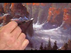 Jerry Yarnell #Art Video Sedona Canyon Part 11   YarnellArt.com - YouTube
