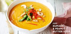 We've picked one of our fave recipes from Nourish: The Fit Woman's Cookbook, The Kumara and Peanut Butter Soup, and we cannot wait for you to give it a try.