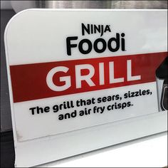 This well-known brand expands its foodservice marketing territory with this Ninja-Foodi Grill Point-of-Purchase Branding.