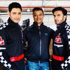 Mahesh Babu & Ranveer Singh are on shooting for Thums Up new advertisement. Nascar Race Tracks, New Advertisement, Mahesh Babu, Ranveer Singh, Telugu Cinema, Telugu Movies, Bollywood Stars, Latest Movies, Celebs