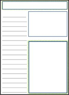 Starting a nature journal - info and free printable
