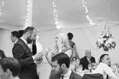 wedding moment amongst guests