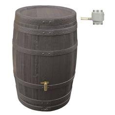 Récupérateur d'eau de pluie GARANTIA Kit Tonneau Vino 250L 139€ chez LM