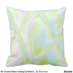 Re-Created Glass Ceiling by Robert S. Lee Pillows #Robert #S. #Lee #pillow #art #artist #graphic #design #colors #kids #children #girls #boys #style #throw #cover #for #her #him #gift #want #need #abstract #home #office #den #family #room #bedroom #living #customizable
