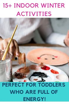 Indoor Activities for Toddlers and Kids Crafts, Printables, Slime, Activities, Games and more! Perfect for winter and indoor activities! Indoor Activities For Toddlers, Autumn Activities For Kids, Infant Activities, Family Activities, Summer Activities, Learning Activities, Outdoor Activities, Toddler Crafts, Crafts For Kids