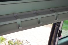 With the rain protection for the side window you can ventilate even when rainy weather. Vw California Beach, Vw Beach, Peugeot, Van Design, Camper Caravan, Mini Camper, Van Interior, Side Window, Campervan