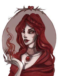 Melisandre of Asshai by IrenHorrors.deviantart.com on @deviantART
