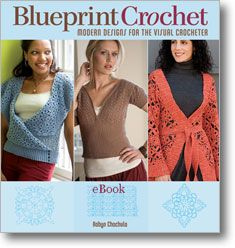 Crochet book with light weight vests/jackets; plus teaches you how to create your own patterns