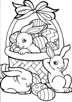 8 Best Easter work idea images | Easter Eggs, Easter bunny, Coloring ...