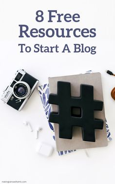 Are you ready to start your own blog, but unsure of how to get going? These 8 free resources are just what you need to help you launch your very own blog! #blog #workfromhome #sidehustle #howtostartablog Earn Money Fast, Make More Money, Make Money Blogging, Extra Money, Money Change, Starting Your Own Business, How To Start A Blog, Hustle, Tips