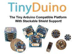 TinyDuino - The Tiny Arduino Compatible Platform w/ Shields! by Ken Burns, via Kickstarter.