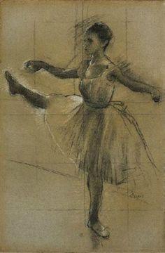 Edgar Degas (1834-197). Danseuse