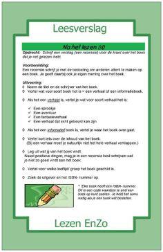 Leesverslag na het lezen Intervieuw Dutch Language, Art School, Book Lovers, Spelling, Classroom, Teacher, Writing, Reading, Books