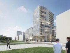 Engel & Völkers' New Headquarters,Courtesy of Richard Meier & Partners