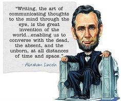 Lincoln...so many insights.
