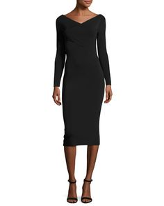 TD78K Theory Daverin Lustrate Sheath Dress