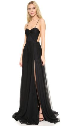 Maria Lucia Hohan Sheer Back Gown