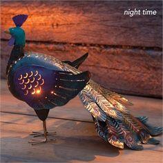 Handmade Peacock Lantern