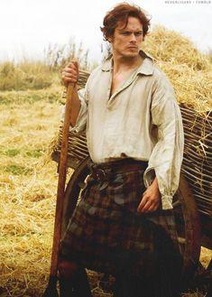 Breaking Down Sam Heughan as Jamie Fraser- That's NormalThat's Normal