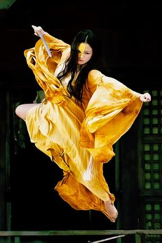Love it when tai chi practice feels just like this: gold and flying!