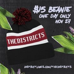 We got beanies! They're on sale for today only! Getcha head warm for the season! http://ift.tt/1QLe8t0
