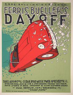 Classic Movie Poster REDUX: Ferris Bueller's Day Off [1986] | DanPerezFilms.com