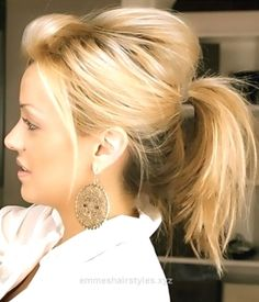 Excellent Messy Cute Ponytail Hairstyle for Medium Hair – Easy Everyday Hairstyles  The post  Messy Cute Ponytail Hairstyle for Medium Hair – Easy Everyday Hairstyles…  appeared first on  Emme's  ..