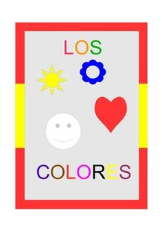 12 A4 display pages with each color in Spanish .Also suitable as Outdoor Flashcards if laminated or you can print 4-6  pages in one A4 page  for smaller flashcards.This work is licensed under a Creative Commons Attribution-NonCommercial-NoDerivs 3.0 Unported License.
