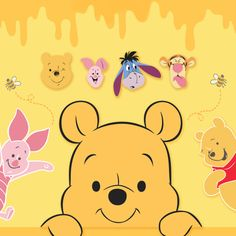 Winnie The Pooh Pictures, Winne The Pooh, Cute Disney Wallpaper, Eeyore, Pikachu, Wall Papers, Fictional Characters, Friends, Funny Giraffe