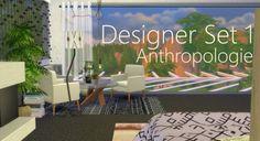Rachels Sim Stuff: Designer set 1 Anthropologie • Sims 4 Downloads