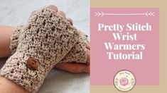 Beginner Crochet Fingerless Gloves Free Crochet Pattern Tutorial In this easy step by step tutorial, I show you how to. Ribbed Crochet, Easy Crochet, Crochet Hats, Free Crochet, Crochet Granny, Crotchet Patterns, Loom Knitting Patterns, Knitting Tutorials, Hat Patterns