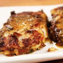 Chettinad Fish Fry: Marinated surmai or king #fish fried till crisp.