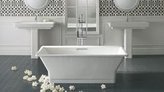 Bathtub: KOHLER   Reve™   BubbleMassage Air Baths   Bathing   Bathroom