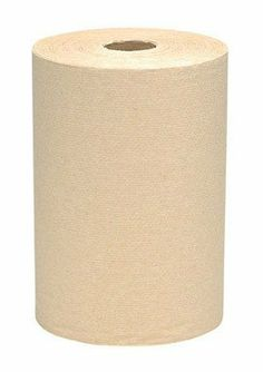 "Non-perforated Paper Towel, 1-Ply, Natural Brown, 400'/Roll, 12 Rolls/Carton KCI02021 by Kimberly-Clark. $43.34. Professional Non-perforated Paper Towel Rolls. Non-perforated Paper Towel Rolls One-ply. 8"" width. Natural. Absorbency pockets with quilted embossing pattern. Meets U.S. EPA standards for post-consumer material paper content. 400 ft. Length Shipping. wt. 21 lbs. 12 Rolls per Carton."