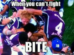 Dirty Doggies! Canterbury Bulldogs V Melbourne Storm Grand Final 2012!