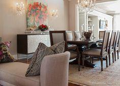 Gillian Gillies Interiors Inc. - Toronto - Canada - Interiors - Dining Room - Essence Furniture - Harper - Refined Luxury