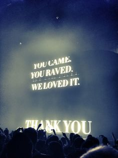 OMG!  Swedish House Mafia was absolutely amazing Saturday night!  I will never forget it :)